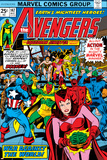 Avengers No.147 Cover: Scarlet Witch Prints by George Perez
