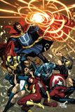 New Avengers No.53 Cover: Dr. Strange Poster by Billy Tan