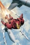 Invincible Iron Man No.3 Cover: Iron Man Posters by Salvador Larroca