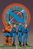 Fantastic Four No.527 Cover: Thing, Mr. Fantastic, Human Torch and Invisible Woman Posters by Mike McKone