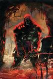 Skaar: Son Of Hulk No.3 Cover: Skaar Jumping Print by Ron Garney