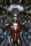 Iron Man: Director Of S.H.I.E.L.D. No.31 Cover: Iron Man Print by Adi Granov