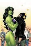 She-Hulk No.38 Cover: She-Hulk Prints by David Williams