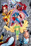 Avengers No.12 Group: Vision Photo by George Perez