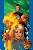 Ultimate Fantastic Four No.1 Cover: Invisible Woman Poster by Bryan Hitch