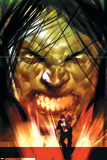 Dark Reign: The List - Hulk No.1 Cover: Banner, Bruce and Skaar Posters by Ben Oliver