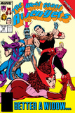 Avengers West Coast No.44 Cover: Scarlet Witch, Wonder Man, Hawkeye and Vision Prints by John Byrne