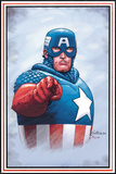 The New Invaders No.0 Cover: Captain America Photo by Steve Epting