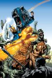 Marvel Adventures Fantastic Four No.5 Group: Mr. Fantastic Poster by Manuel Garcia