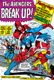 Avengers Classic No.10 Group: Captain America, Iron Man and Giant Man Posters by Don Heck