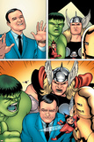 Avengers Classics No.1 Group: Hulk, Thor, Lee, Stan and Iron Man Affiches par Kevin Maguire
