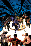 House Of M: Avengers No.5 Cover: Hawkeye, Cage, Luke, Iron Fist and Cloak Photo by Mike Perkins