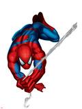 Spider-Man Swinging Prints