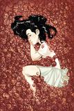 Runaways 6 Cover: Minoru and Nico Plakater av Humberto Ramos