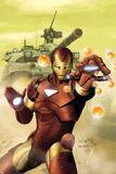 Invincible Iron Man No.2 Cover: Iron Man Posters by Salvador Larroca