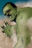 Hulk & Thing: Hard Knocks No.1 Headshot: Hulk Charging Poster by Jae Lee