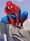 Spider-Man In the City on Gargoyle Plakát