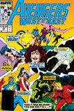 Avengers West Coast No.49 Cover: Scarlet Witch Posters by John Byrne