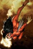 New Avengers No.4 Cover: Spider Woman Bilder av David Finch