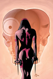 Bullseye Greatest Hits No.4 Cover: Elektra, Bullseye and Daredevil Plakater af Mike Deodato