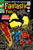 Fantastic Four No.52 Cover: Mr. Fantastic Fotografía por Jack Kirby
