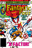 Fantastic Four No.250 Cover: Gladiator Póster por John Byrne