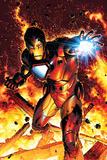 Brandon Peterson - Invincible Iron Man No.2 Cover: Iron Man Obrazy