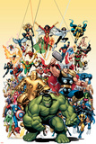 Omslag från Avengers Classics nr 1 – Hulken Affischer av Arthur Adams