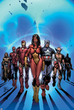 New Avengers No.7 Cover: Spider Woman Poster by David Finch