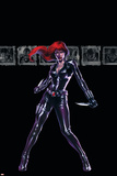 Secret War No.4 Cover: Black Widow Posters