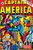 Captain America No.16 Cover: Captain America, Red Skull and Bucky Fighting Print by Al Avison