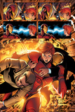 Marvel Adventures Iron Man No.3 Group: Iron Man, Pepper Potts and Virginia Poster af Ronan Cliquet