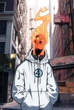 Human Torch V1, No.8 Cover: Human Torch Posters by Skottie Young