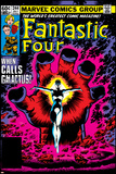 Fantastic Four No.244 Cover: Nova Prints by John Byrne
