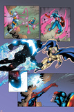 New Thunderbolts No.14 Group: Photon, Sentry, Captain America and Songbird Posters by Tom Grummett