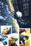 Sable & Fortune No.3 Cover: Silver Sable, Fortune and Dominic Prints by John Burns