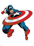 Captain America V4, No.27 Cover: Captain America Prints by Dave Johnson