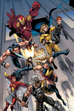 The Mighty Avengers No.7 Group: Ms. Marvel Posters by Mark Bagley