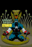 Captain America V4, No.31 Cover: Captain America and Serpent Society Crouching Prints by Dave Johnson