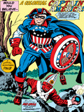 Captain America Bicentennial Battles: Captain America and Red Skull Photo by Jack Kirby