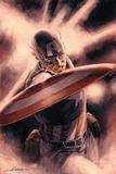 Mitchell Breitweiser - Captain America Theater of War: A Brother in Arms č. 1, obálka: Captain America Plakát