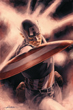 Captain America Theater of War: A Brother in Arms Nr.1 Titelbild: Captain America Poster von Mitchell Breitweiser