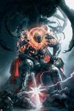 Annihilation: Conquest No.5 Cover: Ultron Plakát