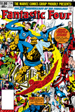 Fantastic Four No.236 Cover: Thing, Mr. Fantastic, Invisible Woman and Human Torch Láminas por John Byrne