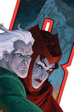 Avengers: Earths Mightiest Heroes No.7 Cover: Quicksilver and Scarlet Witch Photo