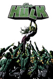 She-Hulk No.31 Cover: She-Hulk and Madrox Prints by Mike Deodato