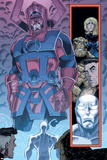 Marvel Adventures Fantastic Four No.26 Group: Galactus Poster by Cory Hamscher