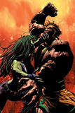 She-Hulk No.30 Cover: She-Hulk and Hercules Posters by Mike Deodato