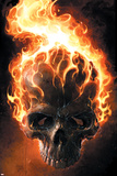 Ghost Rider No.2 Cover: Ghost Rider Plakater