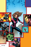 Marvel Adventures Avengers No.27 Cover: Giant-Girl Posters by Kirk Leonard